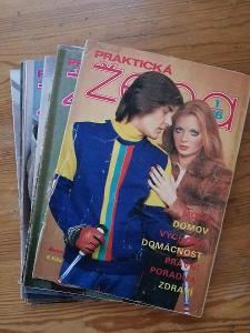 Praktická žena - kompletní ročník 1976 -  včetně střihovýh  příloh !!