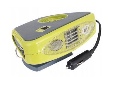 Ohřívač 12V autohřívač 150W svítilna + dárek