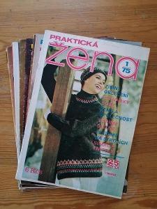 Praktická žena - kompletní ročník 1975 -  včetně střihových  příloh !!