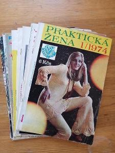 Praktická žena - kompletní ročník 1974 - včetně střihových  příloh !!