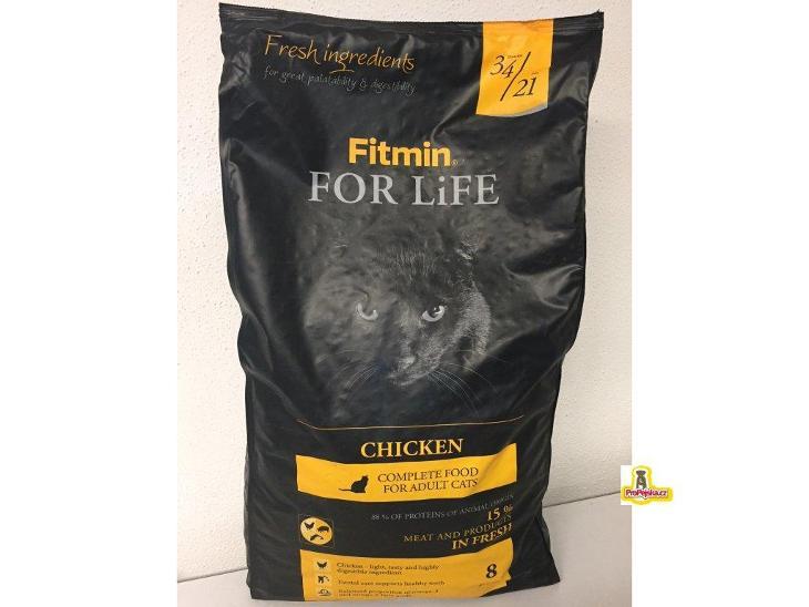 2kg Fitmin Cat For Life Chicken - Zvířata