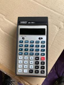Kalkulačka MBO Alpha 1000-1 - historická