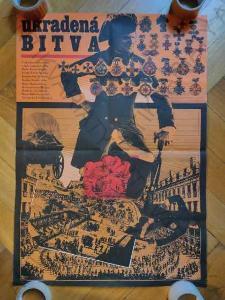 Ukradená bitva Zdeněk Ziegler film plakát A1 Liška