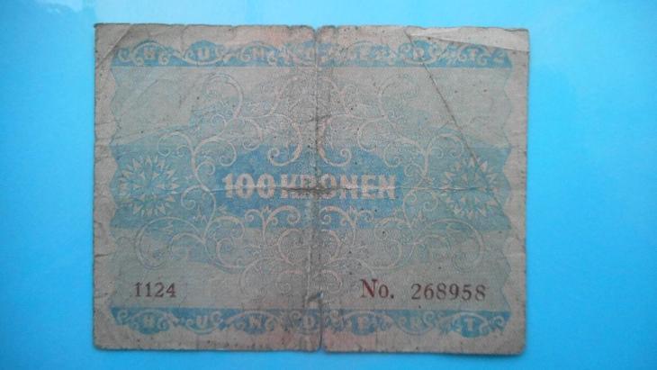 100 kronen ,  - Bankovky