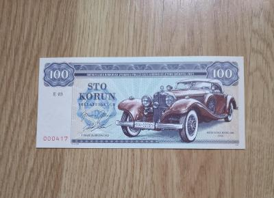 Zlatá sbírka V. ZAPADLÍKA, bankovka MERCEDES BENZ 540, GÁBRIŠ