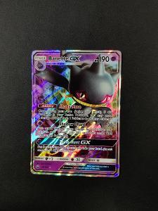 Pokémon karty - Banette GX