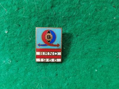 zip saček 13/ odznak -brno 1966