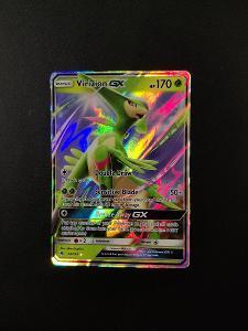 Pokémon karty - Virizion GX