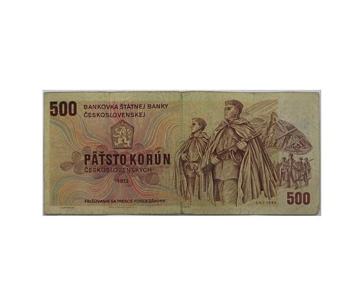 500 Kčs 1973, série Z 78 - Bankovky