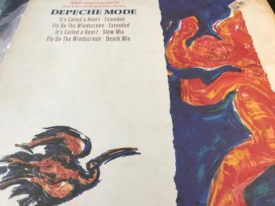 Depeche Mode: It´s Called A Heart / Fly On The Windscreen 1985 LTD MAX