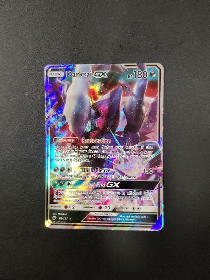 Pokémon karty - Darkrai GX - Karetní hry