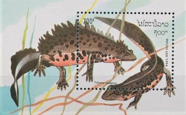 Fauna - Laos - Filatelie