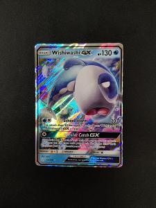 Pokémon karty - Wishiwashi GX