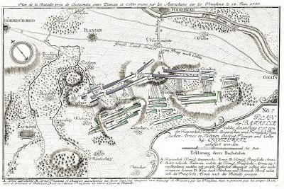 Chocemice, Friedrich, mědiryt 1758