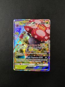 Pokémon karty - Vileplume GX