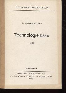 Technologie tisku 1. díl