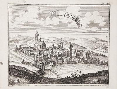 Louny, Vogt,  mědiryt, 1712