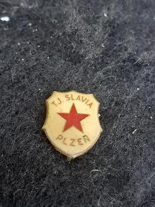 Odznak TJ SLAVIA PLZEŇ