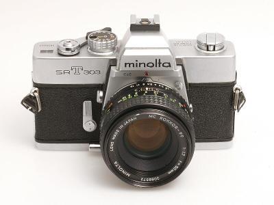 MINOLTA SRT303, MC Rokkor PF 50mm/1,7