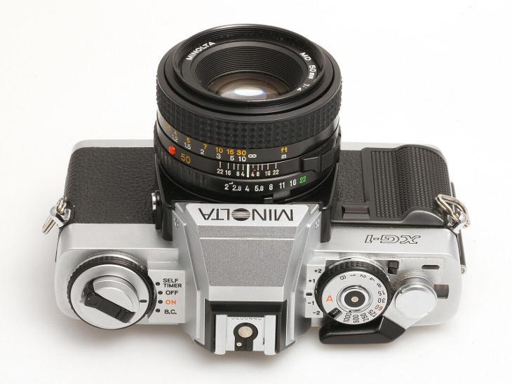 MINOLTA XG-1, MD Rokkor 50mm/2 - Foto