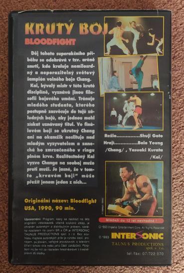 VHS Krutý Boj - Film