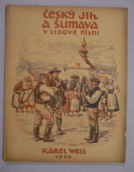 Český jih a Šumava v lidové písni, díl 5. - Knihy