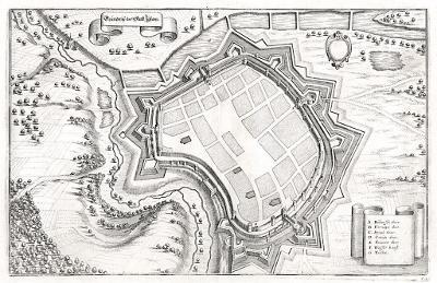 Jihlava, Merian, mědiryt, 1650
