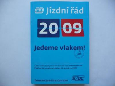 JÍZDNÍ ŘÁD - ČD - 2009