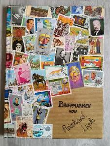 na prodej sbírka známek FILIPÍNY v pěkném albu A4