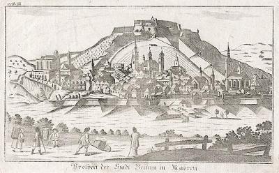 Brno, Eder , mědiryt (1800)