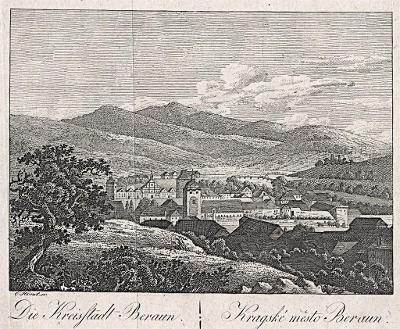Beroun, Hyllos, mědiryt , 1820