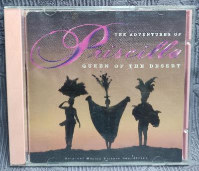 CD - Soundtrack - PRISCILLA ( 1994 ) 9 a 10 skladba blbne !!!