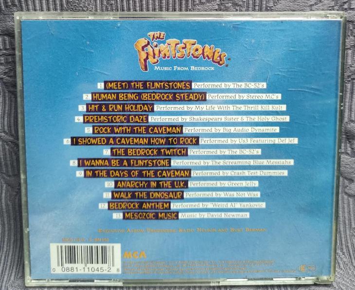 CD - Soundtrack - THE  FLINTSTONES  ( 1994 ) - Hudba