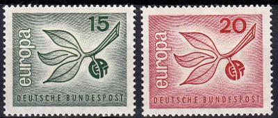 Německo / BRD 1965 Mi.483-484 MNH**