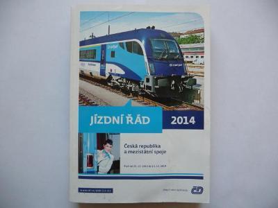 JÍZDNÍ ŘÁD - SŽDC - 2014