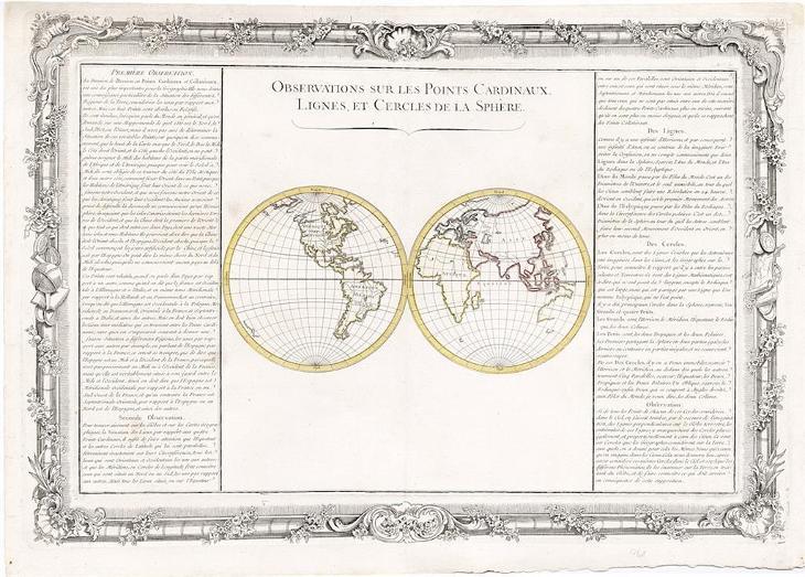 Buy de Mornas : Observations, mědiryt, 1762 - Antikvariát