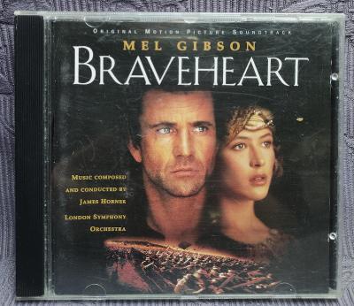 CD - Soundtrack - BRAVEHEART ( 1995 )