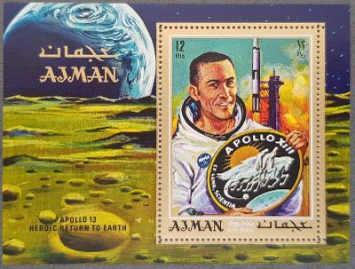 Ajman kosmos, Apollo 13, 1ks aršík
