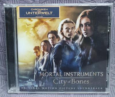 CD - Soundtrack-THE MORTAL INSTRUMENTS ( 2013 )  , CD V PĚKNÉM STAVU