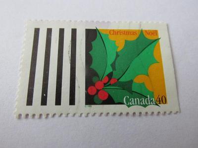 Známky Kanada 1995,  Vánoce - Rostliny a listy