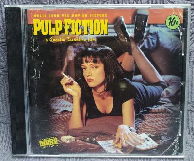 CD - Soundtrack - PULP FICTION  ( 1994 ) , CD V PĚKNÉM STAVU