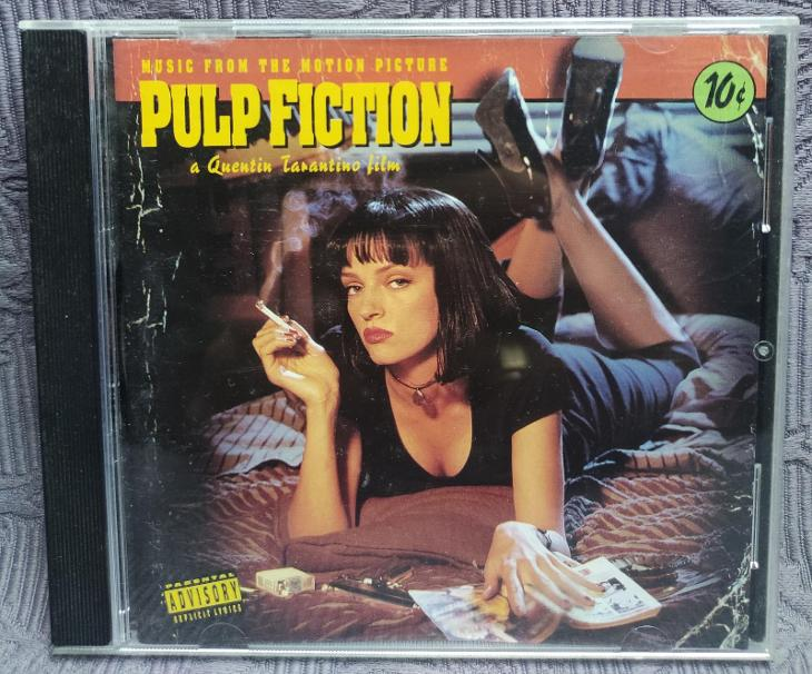CD - Soundtrack - PULP FICTION  ( 1994 ) , CD V PĚKNÉM STAVU - Hudba