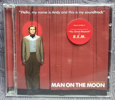 CD - Soundtrack - MAN ON THE MOON  ( 1999 ) , CD V PĚKNÉM STAVU