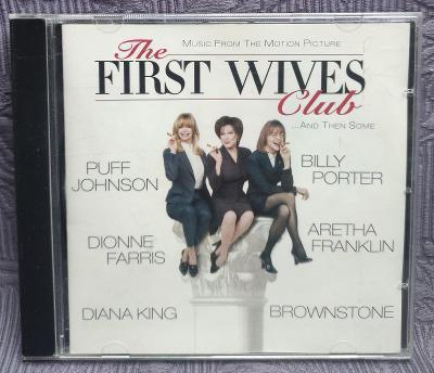 CD - Soundtrack - THE FIRST WIVES CLUB ( 1996 ) , CD V PĚKNÉM STAVU