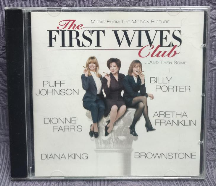 CD - Soundtrack - THE FIRST WIVES CLUB ( 1996 ) , CD V PĚKNÉM STAVU - Hudba
