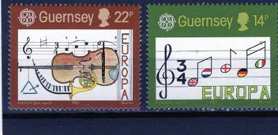 EUROPA CEPT- Guernsey MI 322-3**