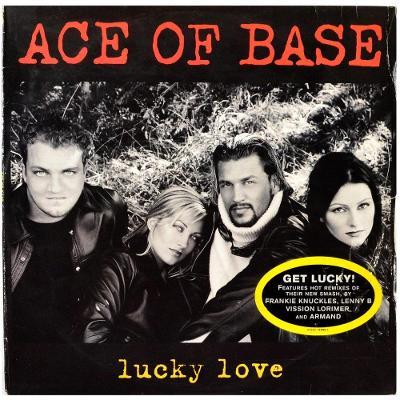 """Gramofonová deska ACE OF BASE - Lucky love (12"""")"""