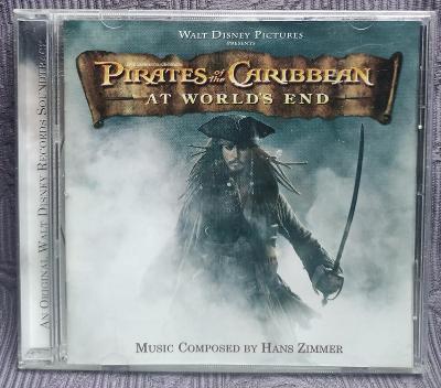 CD - Soundtrack - PIRATES OF THE CARIBBEAN (2007)  , CD V PĚKNÉM STAVU