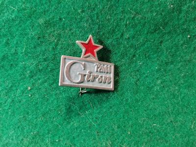 zip saček 14/ odznak -giron