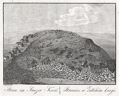 Stranice, Hyllos, mědiryt , 1820